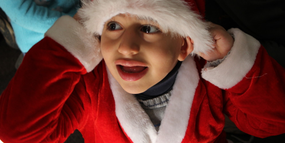 A Christmas Party for Children at PBC